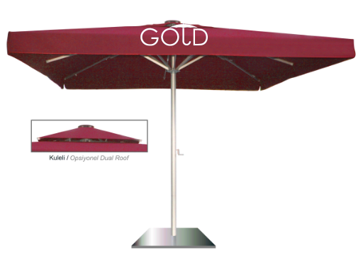 MAgnum Telescopic Square Umbrella